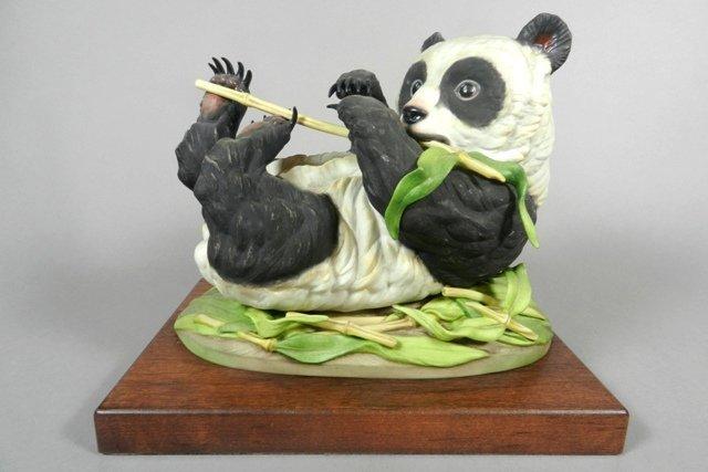 Boehm 'Giant Panda Cub' Porcelain Figure