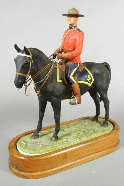 Royal Worcester 'Royal Canadian Mounted Policeman'