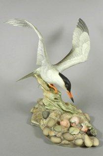 Boehm 'Common Fern' Porcelain Figure