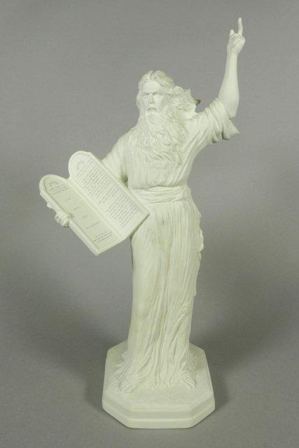 Boehm 'Moses' Porcelain Figure