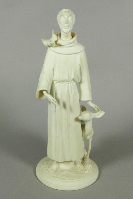 Boehm Saint Francis of Assisi Porcelain Figure