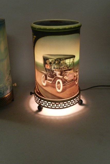1957 Econolite Motion Lamp and Reproduction - 7