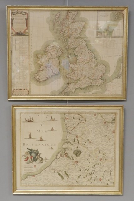 Two 18th Century French Made European Maps