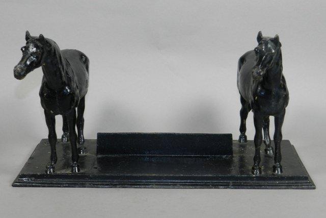 B.B. Butt Co. Cast Iron Horse Boot Scrape