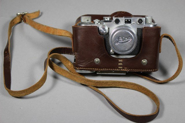 A Leica D.R.P Ernst Leitz Wetlar German Camera