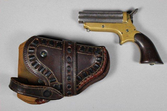 Sharps Four Shot Pepperbox .22 Cal Derringer Pistol