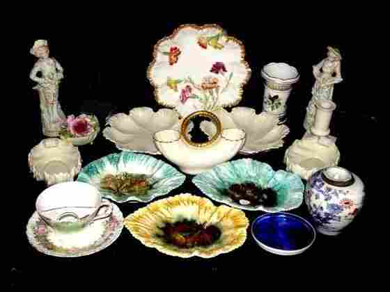 18 Pieces Of Porcelains, Lenox, Limoges,