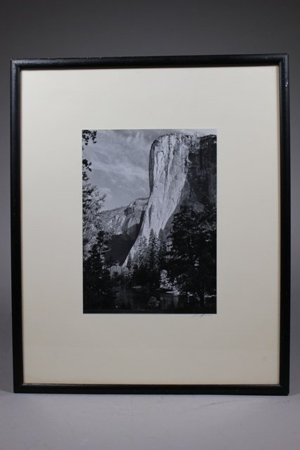El Capitan Photograph by Ansel Adams