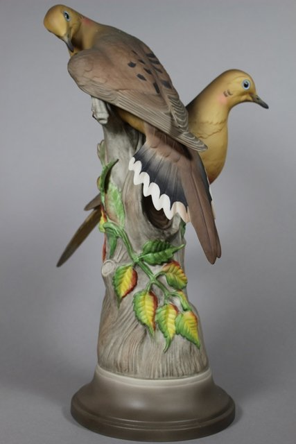 Boehm Mourning Birds Porcelain Figurine #443