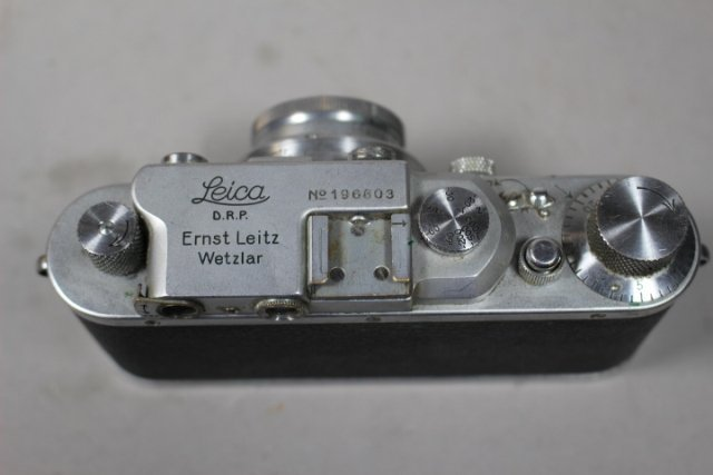 1930'S Leica D.R.P. Ernst Leitz Wetzlar Leica Camera - 3