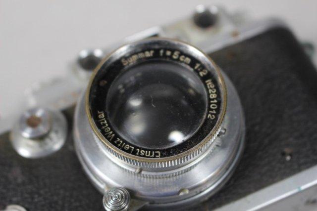 1930'S Leica D.R.P. Ernst Leitz Wetzlar Leica Camera - 5