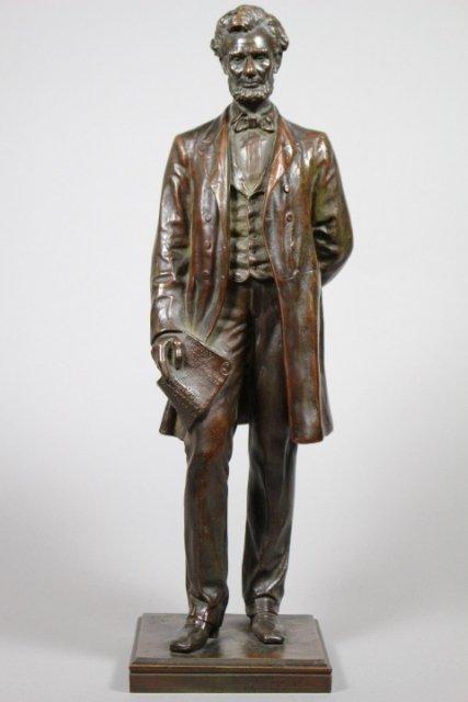 George E Bissell, Abraham Lincoln Bronze Statue
