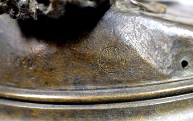 Bronze Sculpture Of Sarpedon By Henri Peinte - 7