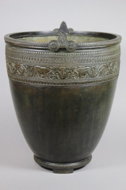 French Empire Bronze Situla after 3rd century BC