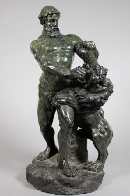 Continental Grand Tour Marble Sculpture