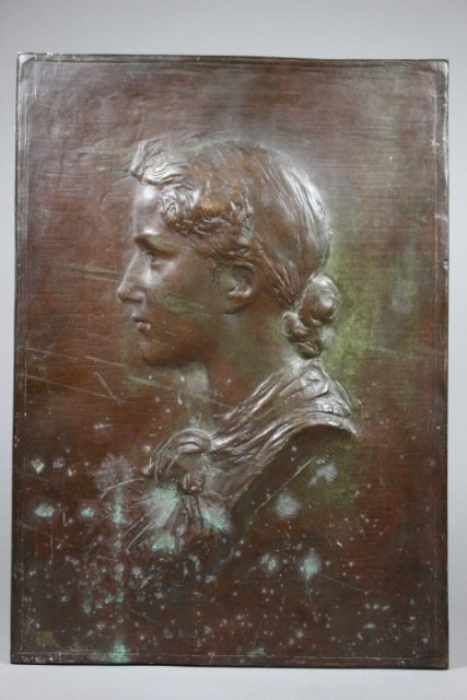 Bronze Cast Of Susan Taft By Daniel Chester French