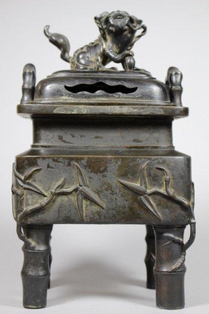 20th Century Bronze Chinese Incense Burner