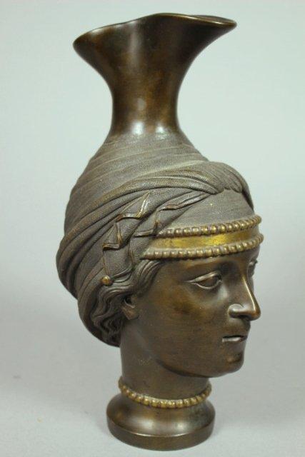20th Century Bronze Ewer