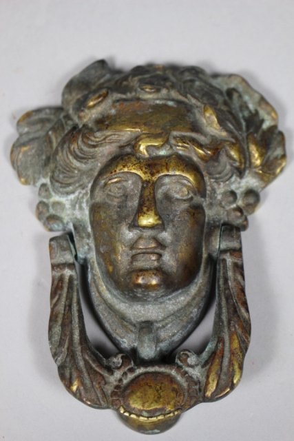 Early 20th Century Bronze Door Knocker