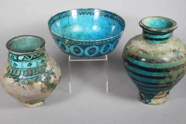 Three Early Pieces Of Persian Pottery - 2