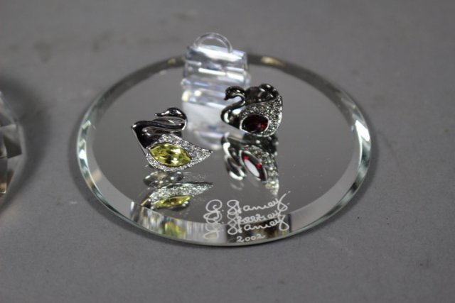 Collection Of Swarovski Crystal Plaques And Easter Eggs - 5