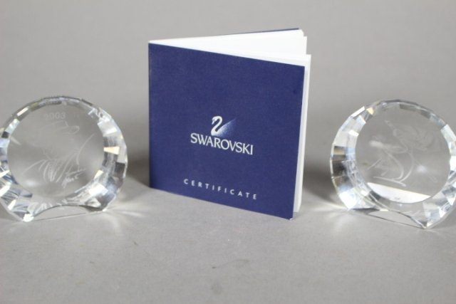 Collection Of Swarovski Crystal Plaques And Easter Eggs - 6