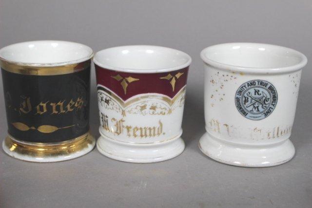 Collection Of 19 Shaving Mugs ( 2 Kerns & 1 T&V All - 8