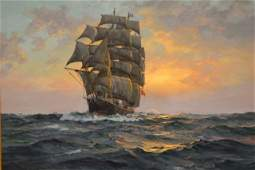 "Charles Vickery (American, 1913-1998) ""The Cutty Sark"""