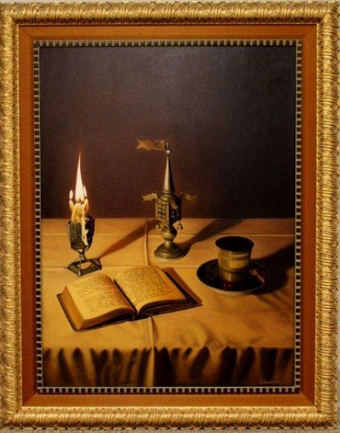 Albert Benaroya (Turkish, 1963- ) Oil On Canvas