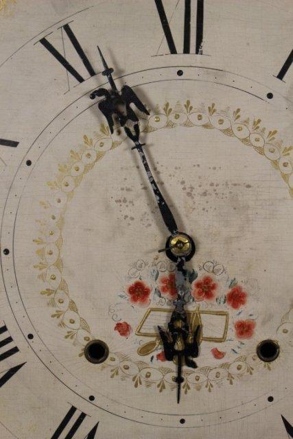 Eli Terry Empire Shelf Clock With Wood Works - 4