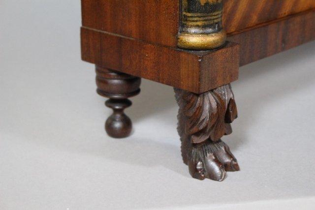Eli Terry Empire Shelf Clock With Wood Works - 7