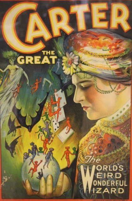 1920's Carter The Great Magic Poster - 2