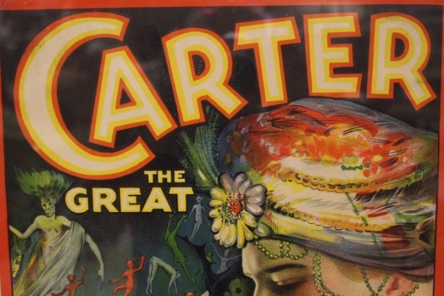 1920's Carter The Great Magic Poster - 3