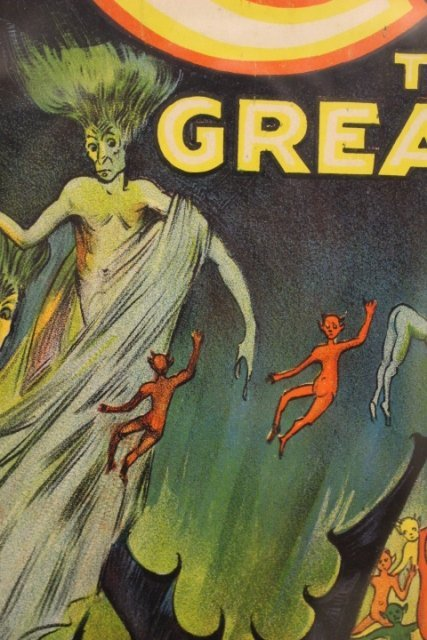 1920's Carter The Great Magic Poster - 6