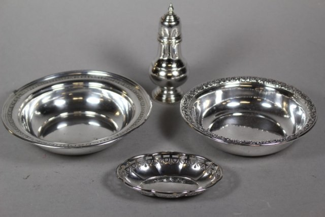 Sterling Silver 5 Piece Collection Lot