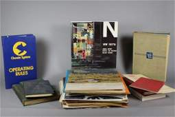 Collection of Vintage Nickel Plate Road Paper Ephemera