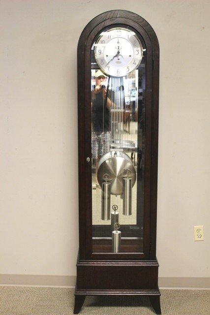 modern ridgeway grandfather clock by pulaski