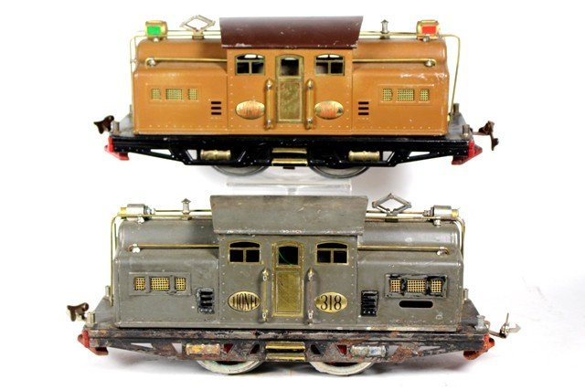 Lionel No. 318 and No. 318e Locomotives