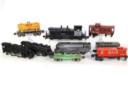 Collection of Lionel O-Gauge Locomotives and Cars