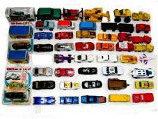 Collection Of 49 Vintage Collectible Die Cast Cars