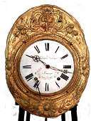 French 19th.C. Morbier Clock Lachages Deabriges