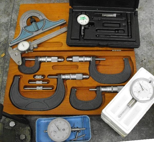 CRAFTSMAN GUAGE & MICROMETER LOT