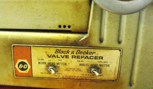 VALVE REFACER BLACK & DECKER - 2