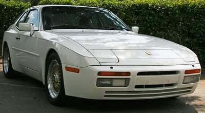 1986 PORSCHE 944 2 DOOR TURBO WHITE