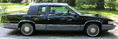 1990 CADILLAC COUPE DEVILLE 2 DOOR GREAT COND.