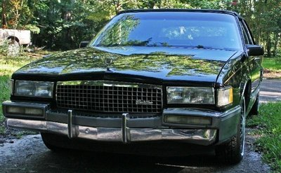 1990 CADILLAC COUPE DEVILLE 2 DOOR GREAT COND. - 2