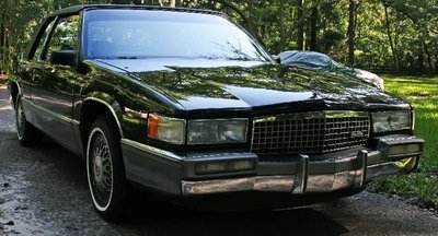 1990 CADILLAC COUPE DEVILLE 2 DOOR GREAT COND. - 3