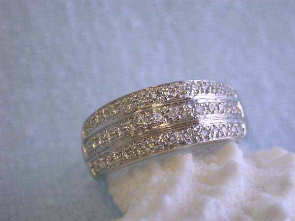 2: 14k Gold Ring with Diamonds