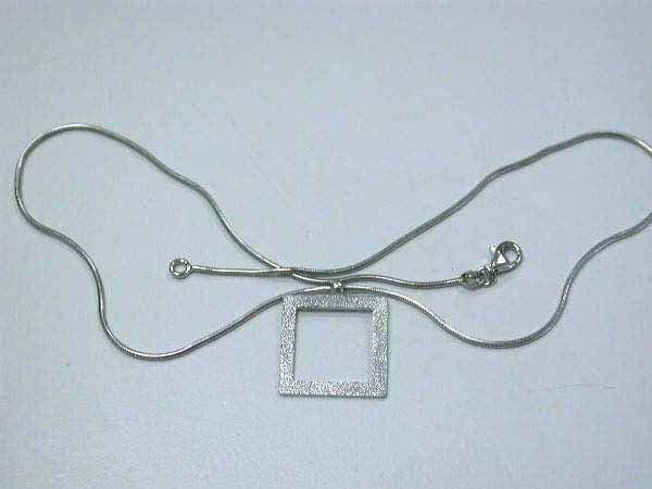 22: Sterling Silver Necklace made in Italy