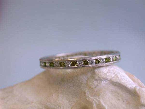 23: Platinum Ring with Diamonds